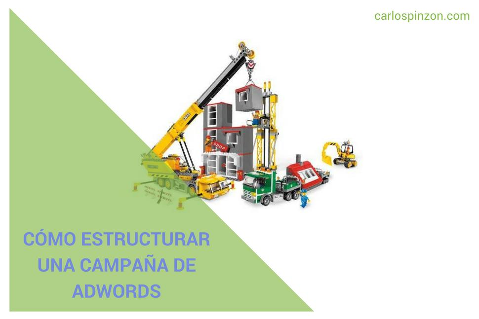 Estructurar Google Adwords